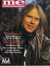 1/93 MUSIC EXPRESS magazine  NEIL YOUNG cover