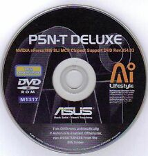 ASUS P5N-T Deluxe Motherboard Drivers Installation Disk M1317