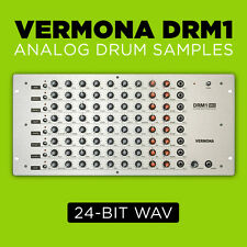 Vermona DRM1 Analog Drum Synth Samples (24-bit WAV) Studio Quality TR-808 909