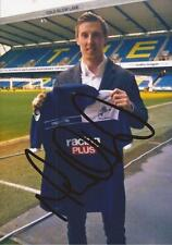 MILLWALL: MARTYN WOOLFORD SIGNED 6x4 PORTRAIT PHOTO+COA