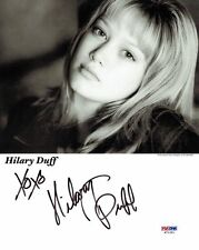 Hilary Duff Signed Authentic Autographed 8x10 Photo PSA/DNA COA