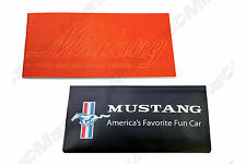 1973 Ford Mustang Owners Manual & Wallet