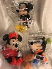 Mickey Mouse Clubhouse Mini Plushes - Set of 3 (Avon) - NEW IN BAG!