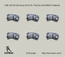 Live Resin 1:35 US Army N.A.P.E. Pad for ACH/MICH Helmet LRE35118*