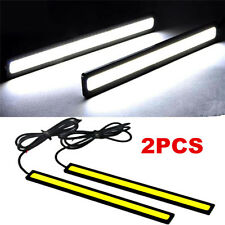 2x Waterproof Super Bright Car DRL Fog Driving Lamps COB LED Light Xennon White