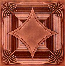 Styrofoam Ceiling Tiles 20x20 Painted R14A Antique Copper