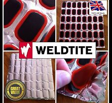 Bicycle Bike Weldtite Tire Tyre Tube 48 Rubber Puncture Patch Patches Repair Kit