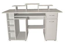 Brand New Alphason San Diego Home Office Computer Desk / Workstation  - White