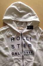 HOLLISTER Girls Full Zip Hoodie BNWT Size S Ivory