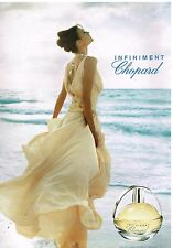 Publicité Advertising 2004 Parfums Infiniment par Chopard