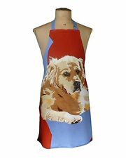 Golden retriver Gundog Design Cooks Apron modern art Shooting  Gift Cotton