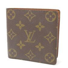 Authentic Louis Vuitton Monogram Marco Bifold Wallet M61675 6B