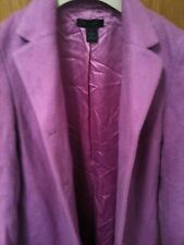 EXCELLENT CONDITION Beautiful Ladies Pink Wool Mohair coat