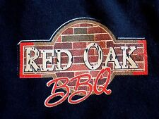 RED OAK BBQ WOOD PIT BBQ WHITTIER CALIFORNIA CA EVERYTHING HAPPENS ONLY TSHIRT L