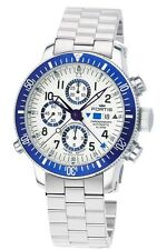 Fortis Mens 641.10.92 M B-42 Valjoux 7750 Swiss Automatic Alarm Chrono Watch