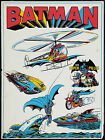 VINTAGE BATMAN - AWESOME 1970'S ADVERTISING POSTER PRINT - LOOKS GREAT FRAMED