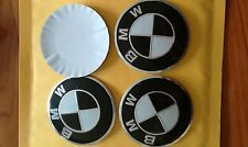 Wheel Center Sticker Decals Label Hub Cap Emblem 4PCS56mm Aluminum /// M for BMW