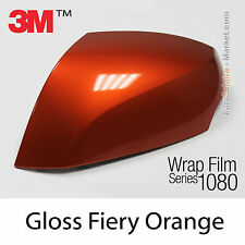 20x30cm FILM Gloss Fiery Orange 3M 1080 G364 Vinyle COVERING Series Wrap