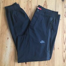 Nike Tech Woven 2.0 Pants 34 G Black Sportswear Trousers Cuff Cuffed 746024 010