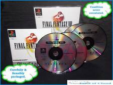 Final Fantasy VIII (8) PS1 platinum game with manual + FREE Final fantasy figure