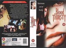 Blood Thirsty, Horror Video Promo Sample Sleeve/Cover #9271