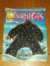 THUNDERCATS #41 26TH DECEMBER 1987 BRITISH WEEKLY FREE POSTER GIFT INCLUDED