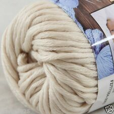 Sale New 1 Skein x 50g Soft 100% Cotton Chunky Super Bulky Hand Knitting Yarn 28