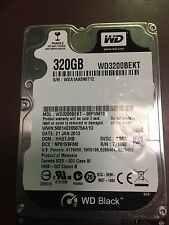 "Apple WD 2.5"" 320GB hard drive HDD, Mac OSX 10.6.8 fresh install"