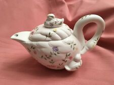 Johnson Brothers Summer Chintz VERY RARE Swan Teapot