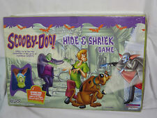 Scooby Doo Hide and Shriek Board Game. Cartoon Network 2003 complete