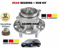 FOR HONDA ACCORD 2.0 2.2 DTi DTEC 2.4 2008-  NEW REAR WHEEL BEARING HUB 282mm