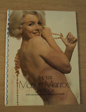 The 1974 MARILYN MONROE Datebook~Norman Mailer COMMENTARY~Risque PHOTOS~