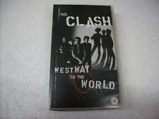 CLASH - WESTWAY TO THE WORLD - VHS PAL