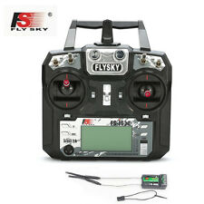 Flysky FS-i6X 6CH 2.4GHz AFHDS 2A RC Transmitter With FS-iA6B Receiver for Drone