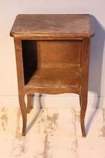 Table de chevet style rustique - Chêne - N°2 - Sellette - Guéridon