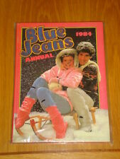 BLUE JEANS 1984 BRITISH ANNUAL NICE CONDITION UNCLIPPED