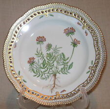 Royal Copenhagen Flora Danica Anthyllus Pierced Dinner Plate # 3553