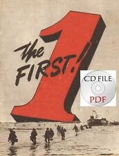 CD File 1st Infantry Division The First! Africa Sicily Aachen Normandy WW2 1944