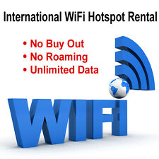 International WiFi Hotspot Rental 14-day Unlimited Data ($99 deposit refundabl)