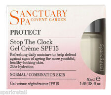 Sanctuary Spa Protect STOP THE CLOCK Gel Creme SPF15 Normal/Combination 50ml