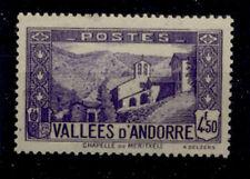 ANDORRE FRANCAIS 1937-1943 - 90 CHAPELLE DE MERITXELL - NEUF LUXE **