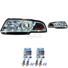 Scheinwerfer Set für Audi A4 B5 8D 94-99 Limo/Avant LED Dragon Lights klar/chrom