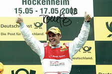 Tom KRISTENSEN Le Mans DRIVER SIGNED AUTOGRAPH 12x8 Photo AFTAL COA