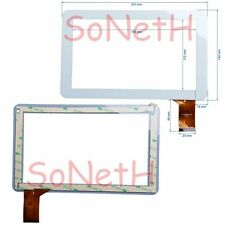 "Vetro Touch screen Digitizer 9,0"" Mediacom SmartPad M-MP920GO Tablet PC Bianco"