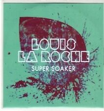 (BU50) Louis La Roche, Super Soaker - DJ CD