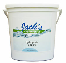 Jack's 4lb Hydroponic Plant Food 5-12-26 JR Peters Hydro Jacks