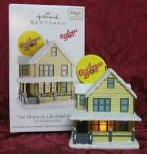 HALLMARK 2012 LIGHT & SOUND ORNAMENT~A CHRISTMAS STORY~THE HOUSE ON CLEVELAND ST