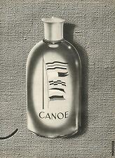 Publicité Advertising eau de cologne CANOE  de  DANA ...