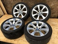 BMW E60 E61 STYLE 124 STAR SPOKE LIGHT ALLOY WHEEL RIM STAGGERED SET OEM 113K