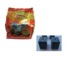 12 x 25g Rodent Poison Block Bait Killer - Strong Strength - Rat & Mouse Control